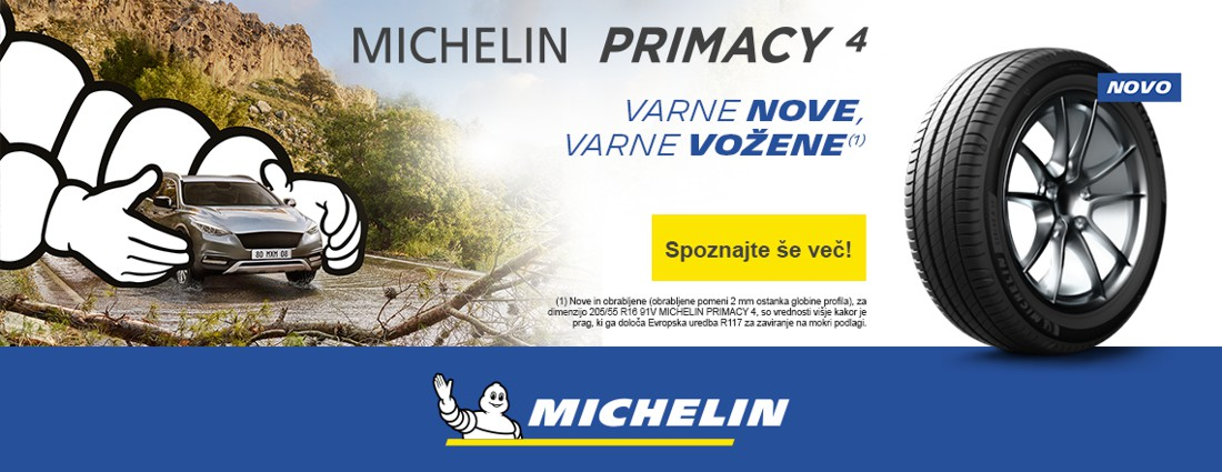 Nove pnevmatike MICHELIN Primacy 4