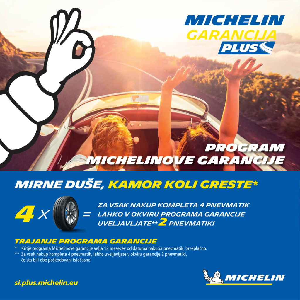 Michelin garancija plus